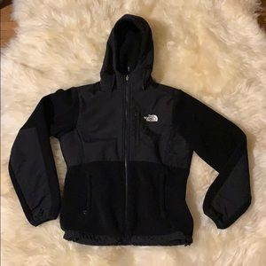North Face Fleece Hoody Women's Small